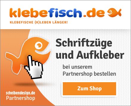 Klebefisch.de - Schriftzüge und Aufkleber
